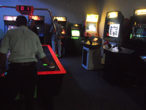 BEST EMPLOYEE ARCADE GAME ROOM